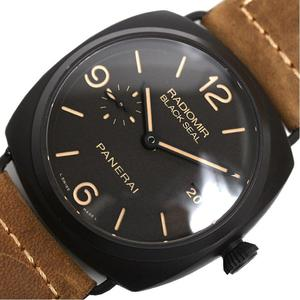 Panerai Radio Meal Composite Black Seal 3 Days Pam00505 Automatic Men's Wrist Watches 美 品
