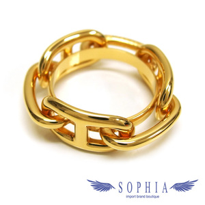 Hermes Scarf Ring Gold Color Shane Dunkle
