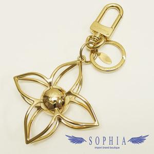 Louis Vuitton Sphere Key Charm Gold Color