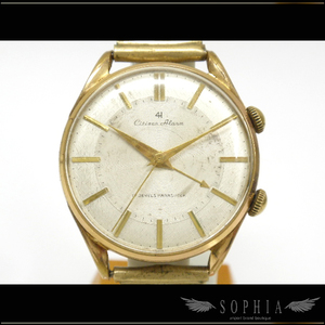 Citizen Alarm 4h Hand Winding Gold Plating Watch