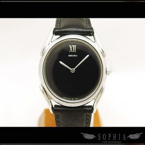 Seiko Silver Round Watch Hand Winding 2220-7250