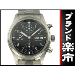 Iwc Freder Chrono Men's Automatic Watch Black Letter Wrist