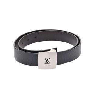 ルイ・ヴィトン(Louis Vuitton) 中古 ルイヴィトン タイガ サンチュールLV CUT グリズリ サイズ80cm M6885 ベルト LOUIS VUITTON