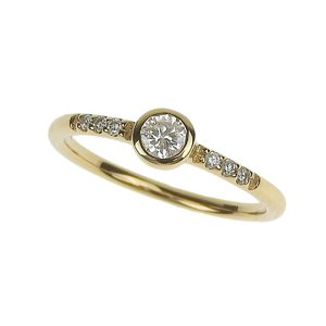 Loree Rodkin (Loree Rodkin) K18yg Petit Diamond Ring Gold No. 3