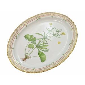 Royal Copenhagen Flora Danica Oversized Oval Dish Dishware Pottery White H 46 Cm 0448