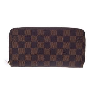 ルイ・ヴィトン(Louis Vuitton) 中古 ルイヴィトン ダミエ ジッピー ウォレット 旧型 N60015 LOUIS VUITTON