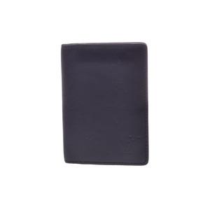 ルイ・ヴィトン(Louis Vuitton) 中古 ルイヴィトン ノマド カードケース 黒 M85010 LOUIS VUITTON
