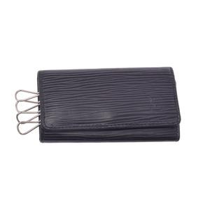 ルイ・ヴィトン(Louis Vuitton) 中古 ルイヴィトン エピ 4連キーケース 黒 M63822 LOUIS VUITTON