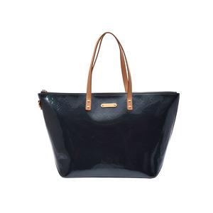 Used Louis Vuitton Vernis Bellevue Gm Blue Nu M93673