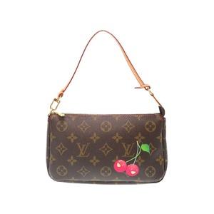 Louis Vuitton Monogram Cherry Pochette Accesso Soar Accessory Pouch M95008 Handbag Bag Lv 0332 Louis