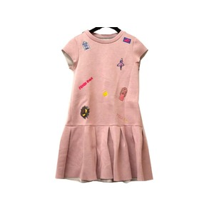 Fendi Monster Rayon One Piece Pink Size 10 A Kids 0225
