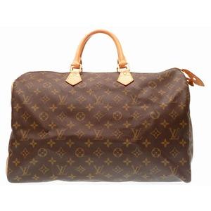 Louis Vuitton Monogram Speedy 40 Handbag M41522 Boston Bag 0252
