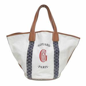 Goyard Bellara Mm Navy Tote Bag Reversible Women's