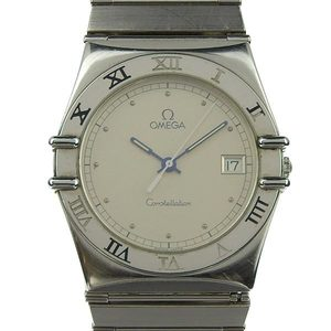 Omega Constellation Quartz Stainless Steel Men's Watch