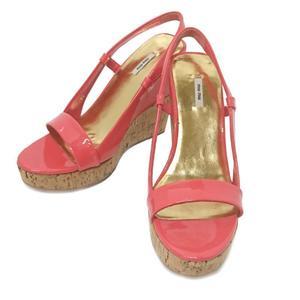 Miu Wedge Sole Sandals