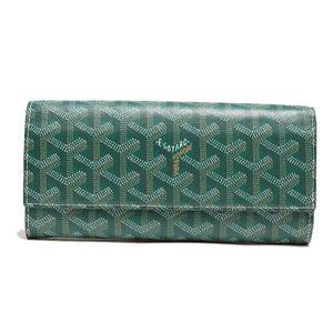 Goyar Goyard Bi-fold Wallet Green Ladies