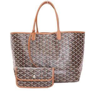 Goyar Goyard Saint Louis Pm Black × Brown Tote Bag Women's