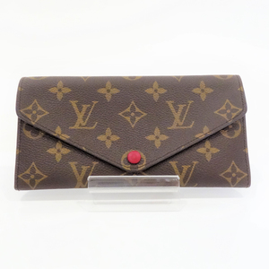 Louis Vuitton M60708 Monogram Porto Foye Josephine Fuchsia Women's Wallet