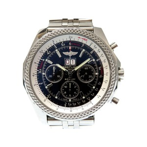 Breitling Bentley 6.75 A44362 A442b59sp Automatic Men's Watch Black Letterboard 0001
