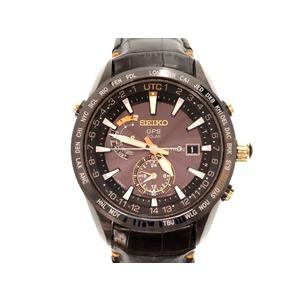Seiko Astron 7x52-0ah0 Gps Solar Radio Clock Men's Only 0148 Watch