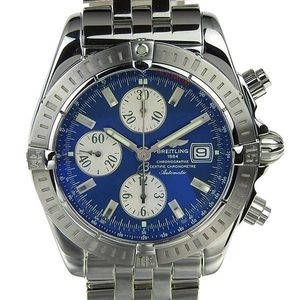 Breitling Breitling Chronomat Men's Automatic Blue Dial A13356 Wrist Watch