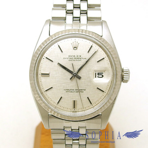Rolex Datejust 1601 Silver Dial Board Oh Watch