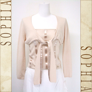 Chanel Knit Ensemble Bolero & Bear Top Cashmere Pink Size 38 03a
