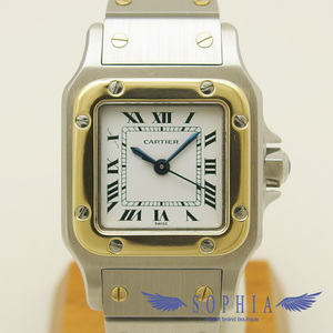 Cartier Santos · Garbe Sm Yg Xss Combination Self-winding Wrist Watch
