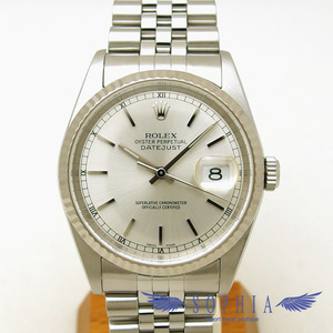 Rolex Datejust Silver Dial Board Y Number Oh Already Watch