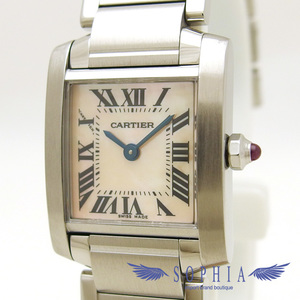 Cartier Tank Francaise Watch Sm Pink Shell Wrist