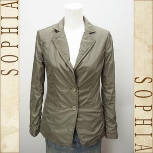Emporio Armani Nylon Jacket Gray Size 38