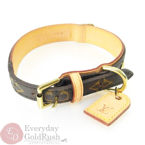Extreme Items Louis Vuitton Louisvuitton Monogram Collie Baxter Mm M 58071 Pet Collar Accessories