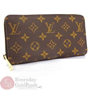 Louis Vuitton Zippy Wallet M42616 Monogram Long Men's Ladies