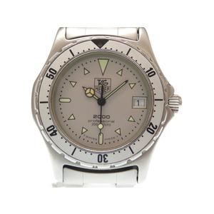 Tag Heuer 972.013 Professional 200 M Quartz Men's Watch Silver Dial 0440