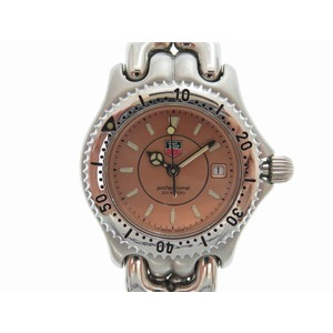 Tag Heuer Cell Series Wg 131 D Watch Quartz Silver 0042