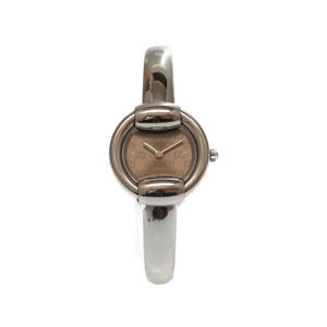Gucci Gg 1400l Stainless Steel Silver Watch Ladies 0323