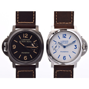 Officine Panerai Luminor Mechanical Stainless Steel Men's Dress Watch PAM00786 PAM00649/650