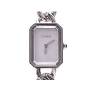 Used Chanel Premiere H3249 Ss Quartz Shell Dial Gallagher Women's Wrist Watch ◇