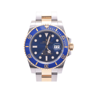 Used Rolex Submariner 116613lb Yg Ss Blue Dial Box ◇