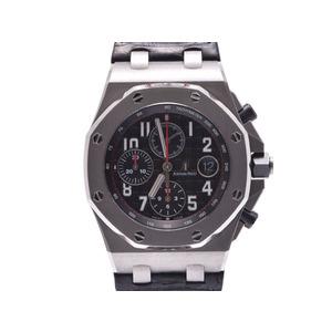 Second Hand Audemars Piguet Royal Oak Offshore Chrono Ss / Leather Automatic Rear Scale Box Genuine Gala Men's Watch ◇