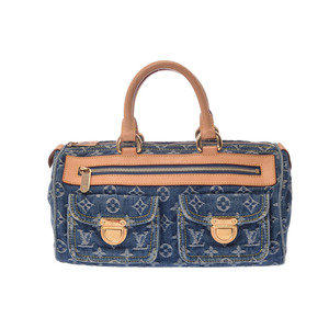 Used Louis Vuitton Denim Neo Speedy Blue M95019 Ladies ◇