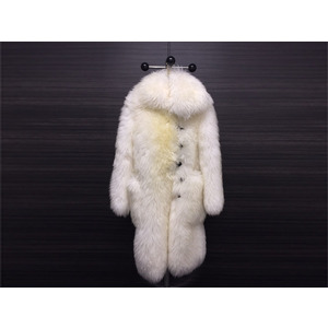 Used Louis Vuitton Coat Sheep White 2015aw Collection Limited Ladies Men's ◇