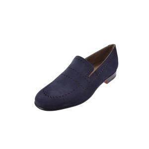 New Article Hermes Slippon Olsen Va Veroa Navy Blue Size 41 Half Men's ◇