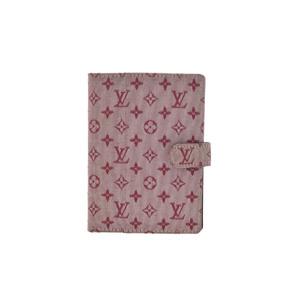 ルイ・ヴィトン(Louis Vuitton) モノグラムミニ キャンバス ノートブック チェリー R20912