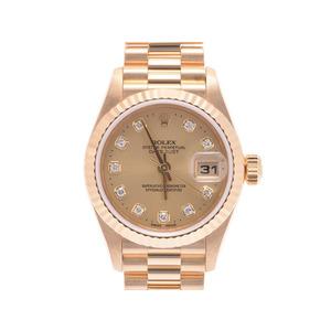 Rolex Datejust Automatic Yellow Gold Women's Dress Watch 79178G