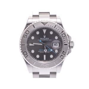 中古 ロレックス ヨットマスター116622 SS ランダム ダークロジウム文字盤 メンズ  腕時計  ROLEX