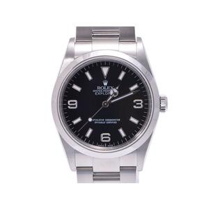 中古 ロレックス エクスプローラ1 14270 SS 黒文字盤 D番 自動巻 箱 ギャラ メンズ  腕時計  ROLEX
