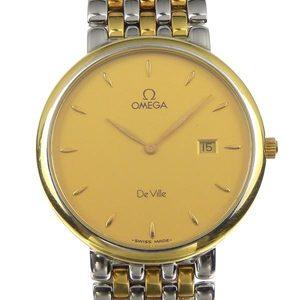 Omega Devil Combination Mens Quartz Wrist Watch