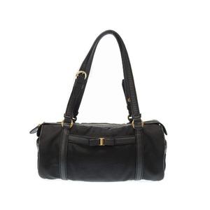 Salvatore Ferragamo Vala Handbag Black 0392