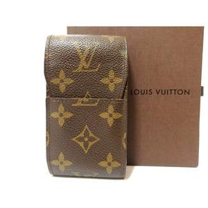 Louis Vuitton Monogram Cigarette Case M63024 Etui 0313 Unisex